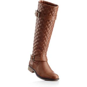 bpc selection Stiefel mit 3 cm Flach in braun von bonprix