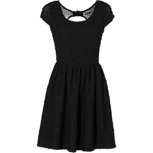 RAINBOW Spitzenkleid/Sommerkleid kurzer Arm in schwarz von bonprix