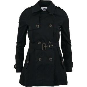 Klasický černý trenčkot Vero Moda Isabel