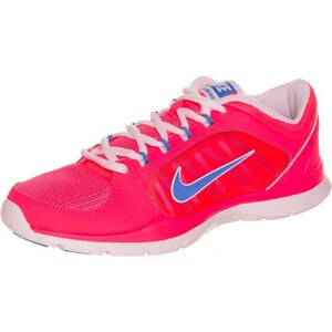 Nike Performance FLEX TRAINER 4 Trainings / Fitnessschuh hyper punch/blue/arctic pink
