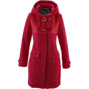 bpc bonprix collection Dufflecoat mit Kapuze in rot für Damen von bonprix