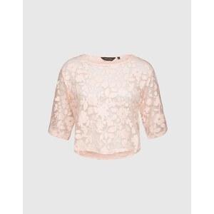 NEW LOOK Cropped Shirt Damen pink