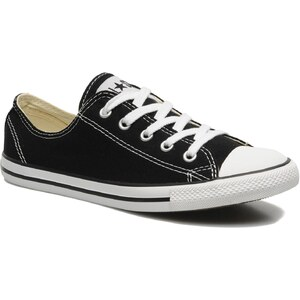 Converse - All Star Dainty Canvas Ox W - Sneaker für Damen / schwarz