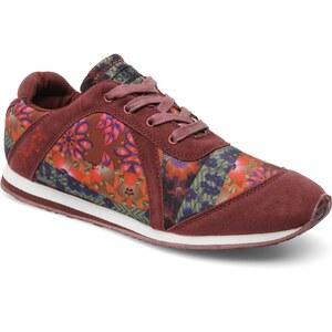 Desigual - Baskia - Sneaker für Damen / weinrot