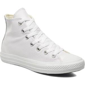 Converse - Chuck Taylor All Star Mono Leather Hi W - Sneaker für Damen / weiß
