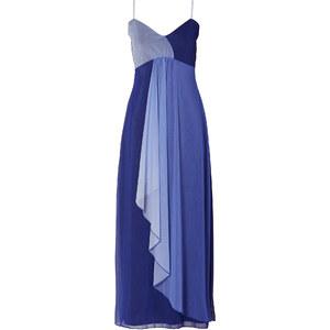 BODYFLIRT Maxishirtkleid kurzer Arm in blau von bonprix