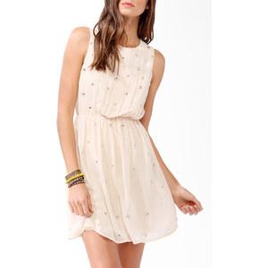 FOREVER21 Beschmücktes Kleid