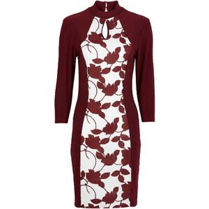 Kleid 3/4 Arm in lila von bonprix