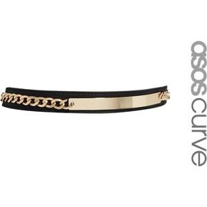 ASOS CURVE ID Chain Plate Waist Belt
