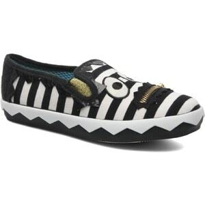 Irregular Choice - ICED Stripey Mikey - Sneaker für Damen / schwarz