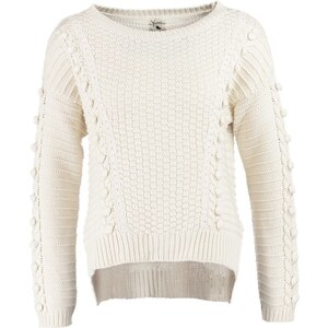 Yumi CHUNKY Strickpullover offwhite