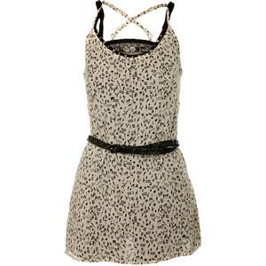 Dámské černo-bílé mini šaty Guess s potiskem - Glami.cz be288c0bba