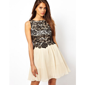 Little Mistress Layered Lace Prom Dress