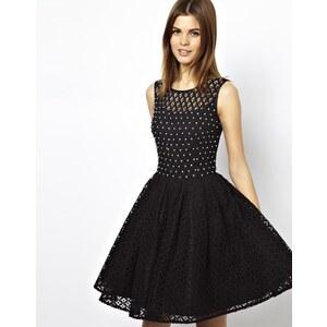 A Wear | A A|Wear – Kurzkleid aus Spitze mit Verzierung