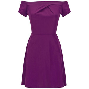 LOVE Women's Cold Shoulder Dress - Magenta
