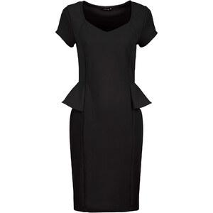 BODYFLIRT Kleid/Sommerkleid in schwarz von bonprix