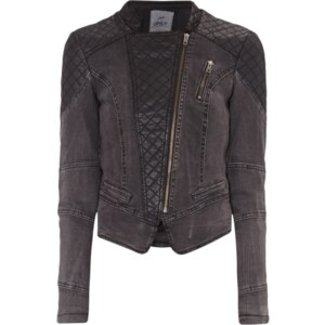 ONLY Jeansjacke im Biker-Look