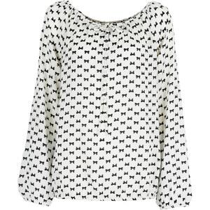 BODYFLIRT Bluse in weiß von bonprix