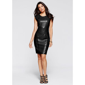 RAINBOW Kleid/Sommerkleid ohne Ärmel in schwarz von bonprix
