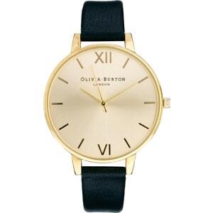 Olivia Burton - OB13BD06 - Schwarze Armbanduhr mit großem Zifferblatt - Schwarz