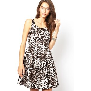 Only Animal Skater Dress