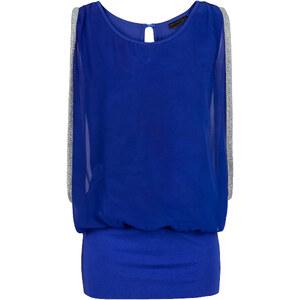 RAINBOW Top ohne Ärmel in blau (Rundhals) für Damen von bonprix