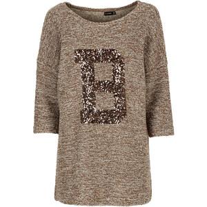 BODYFLIRT Shirt 3/4 Arm in orange (Rundhals) für Damen von bonprix