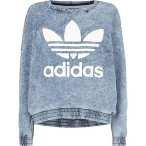 adidas Originals Sweatshirt in Jeans-Optik