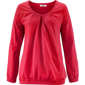 bpc bonprix collection Langarm-Shirt in rot für Damen von bonprix