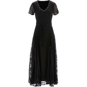 bpc selection Spitzenkleid/Sommerkleid kurzer Arm in schwarz von bonprix