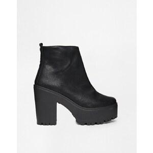 ASOS - EXHIBIT - Ankle Boots - Schwarz