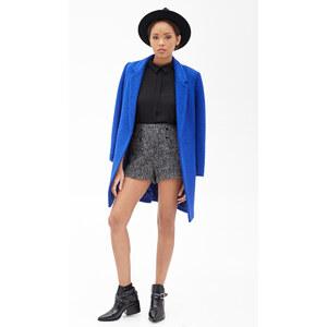 FOREVER21 Tweed Shorts mit hohem Bund