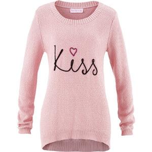 bpc bonprix collection Langarm-Strickpullover designt von Maite Kelly in rosa für Damen von bonprix