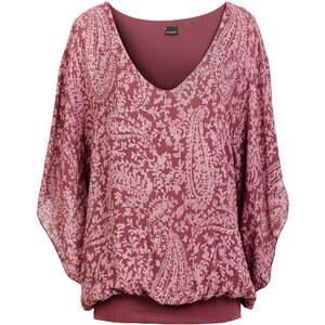 BODYFLIRT Shirt kurzer Arm in rot (Rundhals) für Damen von bonprix
