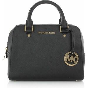 Michael Kors Tasche - Jet Set Travel MD Black - in schwarz aus Glattleder - Henkeltasche für Damen
