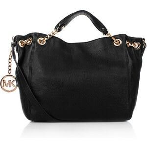 Michael Kors Tasche - Jet Set Chain Item MD NS Tote Black - in schwarz aus Glattleder - Umhängetasche für Damen
