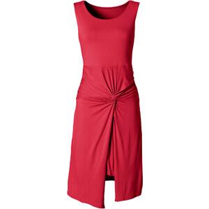 BODYFLIRT Shirtkleid in rot von bonprix