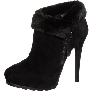 Guess IVORIE Plateaustiefelette black