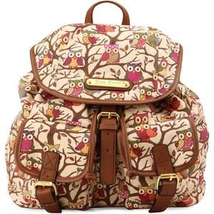 Světlý batoh Anna Smith se sovami