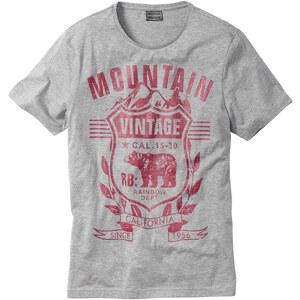 RAINBOW T-Shirt in grau (Rundhals) für Herren von bonprix