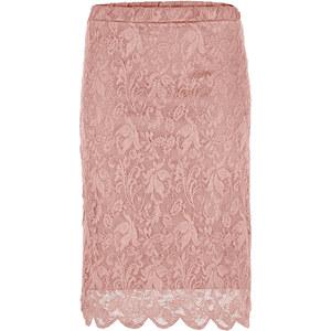 BODYFLIRT Rock in rosa von bonprix