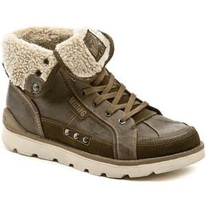 98ed97ef2c5 Mustang Kotníkové boty 4051-603-32 hnědá pánská zimní obuv Mustang -  Glami.cz