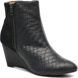 SALE - 46%% Buffalo - Lea - Stiefeletten & Boots für Damen / schwarz