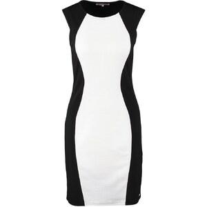 Anna Field Jerseykleid black/white