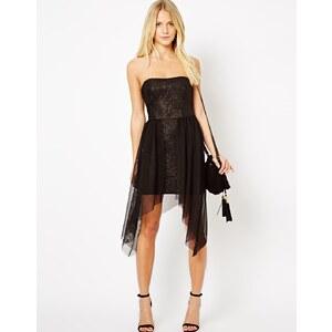Love – Kleid im Bandeaustil