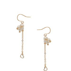 Asos Limited Edition Faux Pearl Heart Earrings