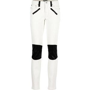 BODYFLIRT Hose in weiß für Damen von bonprix