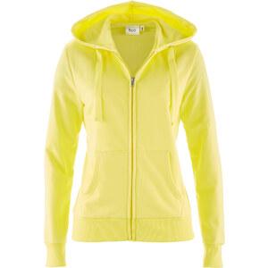bpc bonprix collection Sweatjacke langarm figurumspielend in gelb für Damen von bonprix