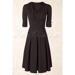 Bunny 40s June Dress in Black