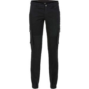 RAINBOW Cargo-Stretchhose in schwarz für Damen von bonprix
